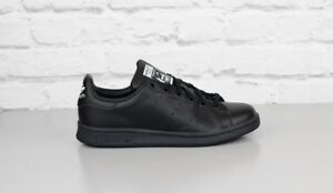 super populaire 90fb9 4f5d7 Détails sur Neuf Adidas Originals Stan Smith Blanc Noir Skate Basket Super