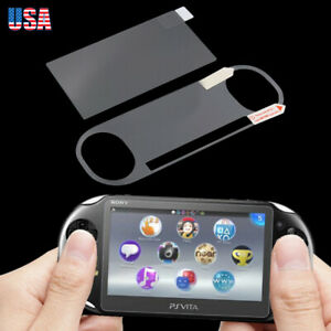 For-Sony-PS-Vita-PCH-2000-Front-Tempered-Glass-Back-Clear-Screen-Protector-SF