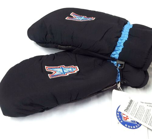 New Houston Oilers Blue and Black Winter Gloves L//XL