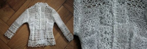 OOAK lace blouse top for 1//3 sd doll color style choice