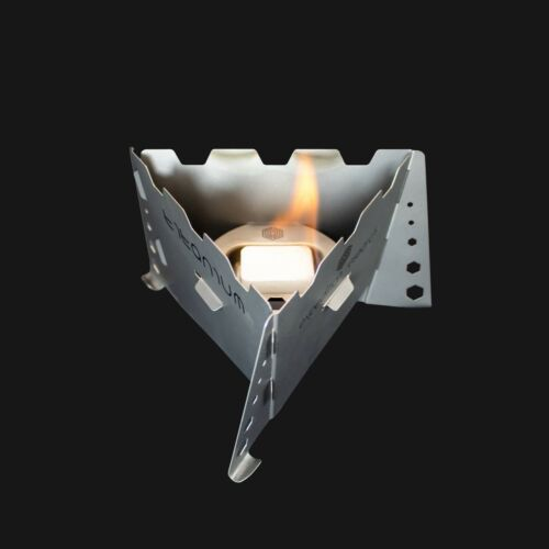 Titane Solid Fuel Stove-Integrated Wind Shield