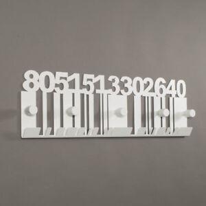 Appendiabiti-da-parete-in-ferro-Codice-a-Barre-design-moderno-Arti-e-Mestieri