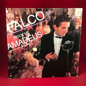 FALCO-rock-me-amadeus-1985-UK-12-034-Vinyle-Single-excellent-etat-B