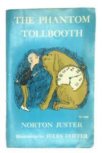 The Phantom Tollbooth Vintage Paperback By Norton Juster 1971 Scholastic TX 1909