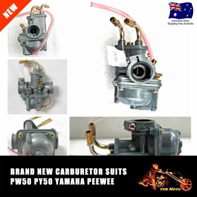 For Yamaha PW50 PY50 Carburetor 50cc Y ZINGER Bike Carb 1981 - 2009 PeeWee 50