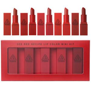 3CE-Stylenanda-3CE-Rosso-Ricetta-Lip-MINI-di-colore-Kit-1-3g-x-5EA