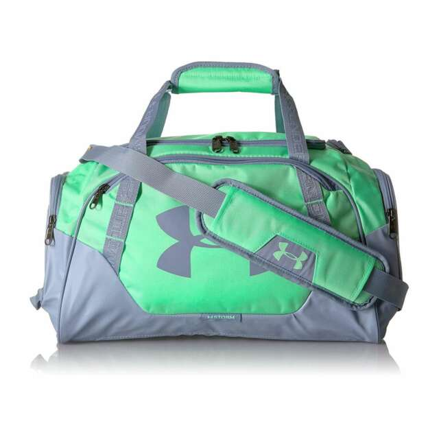 f65869848922 Under Armour Undeniable Duffle 30 Small Bag - Green Typhoon   Washed ...