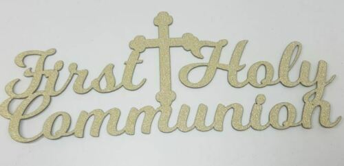 Personalised First Holy Communion Cake Topper Any Name Decoration