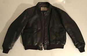 Flight Jacket Officer SCHOTT  IS674MS Vintage 90's Taille US 46 / Taille EUR XL