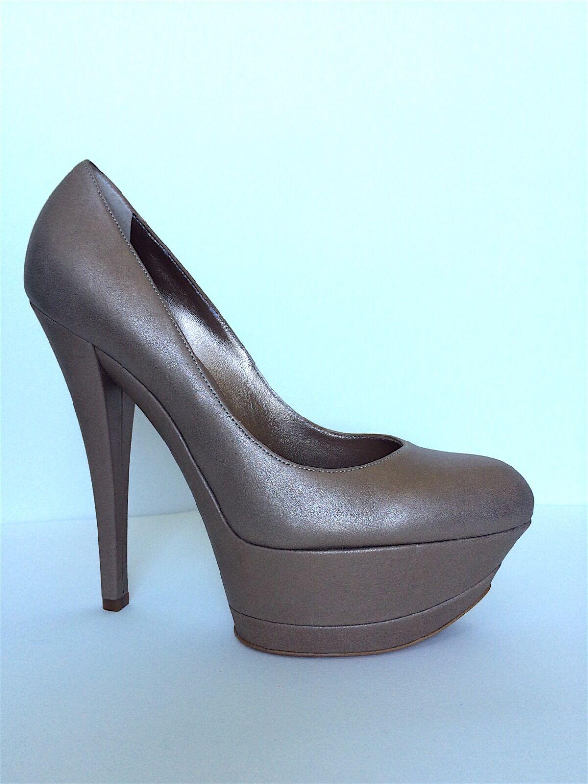 Celebrità preferita  Casadei  Metallic Triple Platform Pump 5526 oro cannelloso  shopping online e negozio di moda
