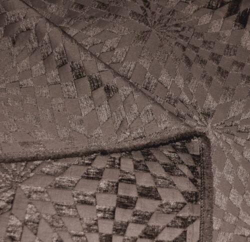 wg06n Gray Brown Geometric Check Round Shape Throw Pillow CASE Cushion COVER*Siz