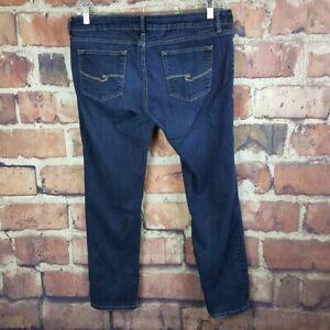 a-n-a-Petite-Womens-Skinny-Jeans-Size-14P-Dark-Wash-Premium