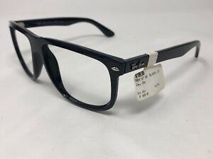 RAY-BAN-RB4147-601-58-Sunglasses-Frame-Italy-60-15mm-Black-Polished-XO07