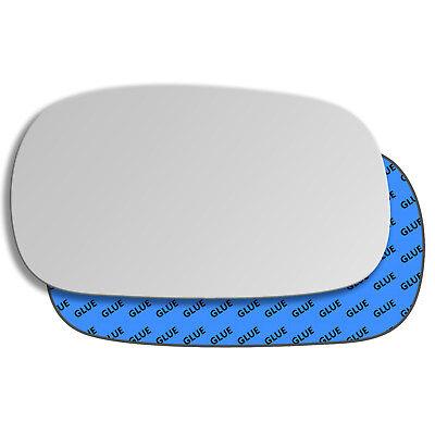 Spiegelglas zum Kleben für NISSAN PATROL Y61 1998-2009 links konvex
