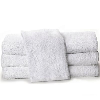 100% Cotone Bianco Faccia A Mano Da Viaggio Asciugamani Per Bagno, Casa, Palestra, Sport, Corpo Da Bagno- Sii Amichevole In Uso