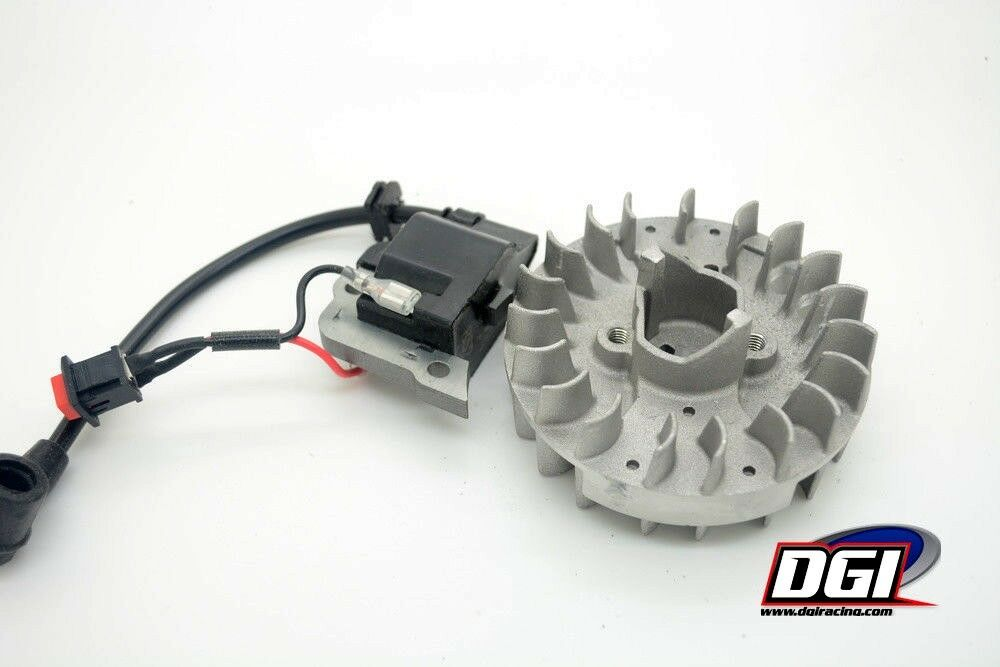 DGI Lightened Engine Flywheel & ignition baja losi zenoah rovan king motors