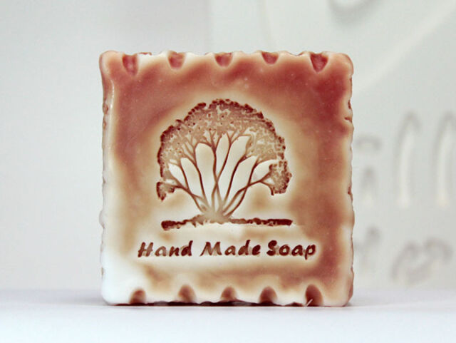 Stone stamp B - Handmade Silicone Soap Mold Candle Mould Diy Craft Molds