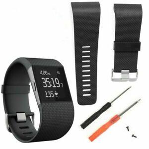 Armband-Uhrenarmband-Bracelet-Werkzeug-Tool-Kit-Silikon-Fuer-Fitbit-Surge-Tracker
