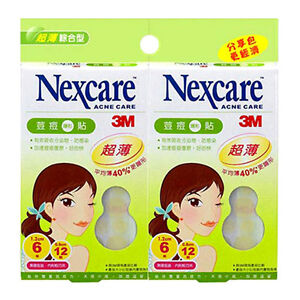 NEXCARE-3M-Acne-Dressing-Pimple-Treatment-Patch-Ultra-Thin-2-Packs-36-Patches