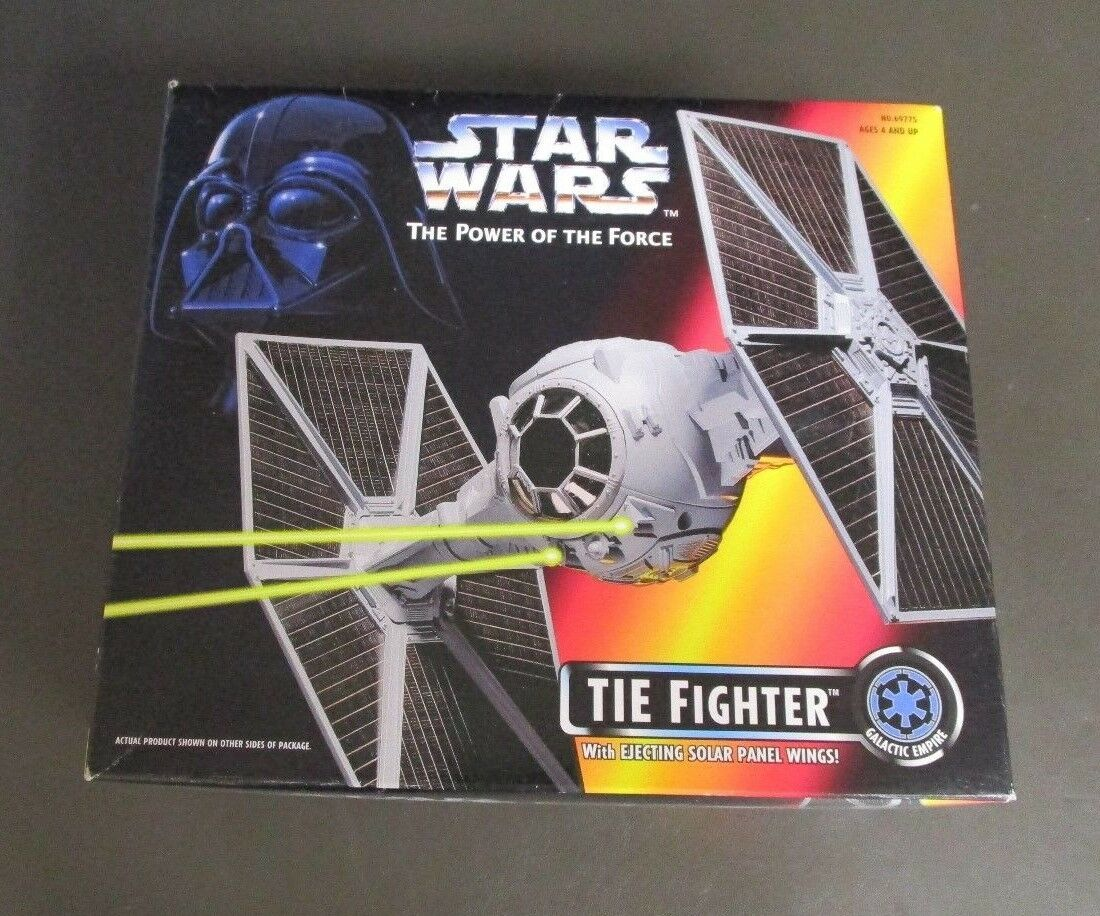 TIE Fighter 1995 Star Wars Power of the Force Power of the force Comme neuf IN BOX