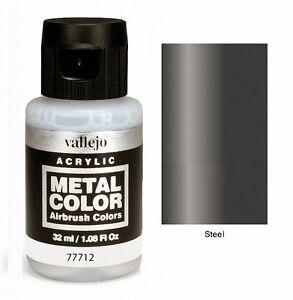VALLEJO-METAL-COLOURS-VAL77712-Metal-Color-Steel-32ml