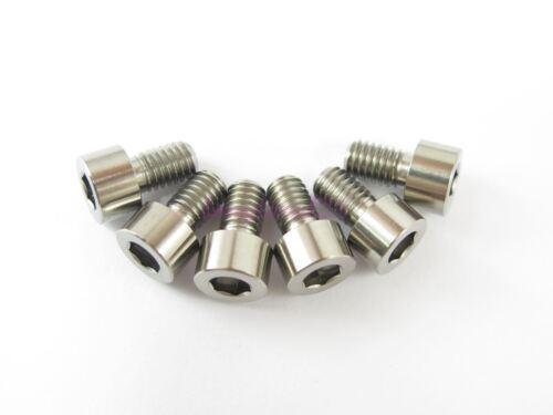 M6 x 10mm Titanium Ti Bolt Hex Socket Cap Head Allen Key Screw GR5-2//6//10pcs