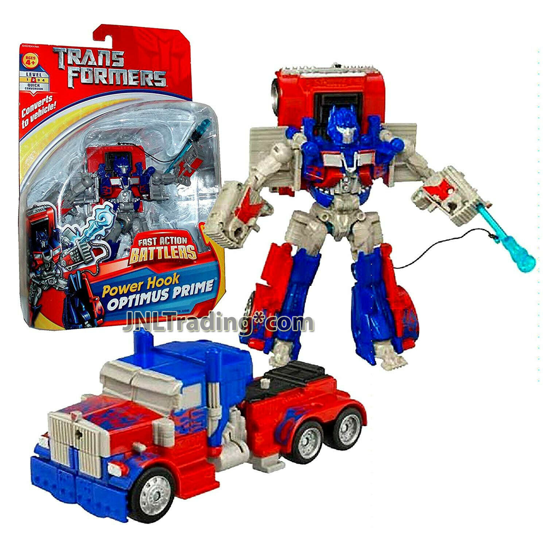 Year 2006 Transformers Fast azione battagliars 6 cifra energia Hook OPTIMUS PRIME