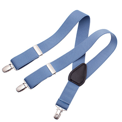 22 inch, royal blue Suspenders for Baby Toddler Kids Boy Girl