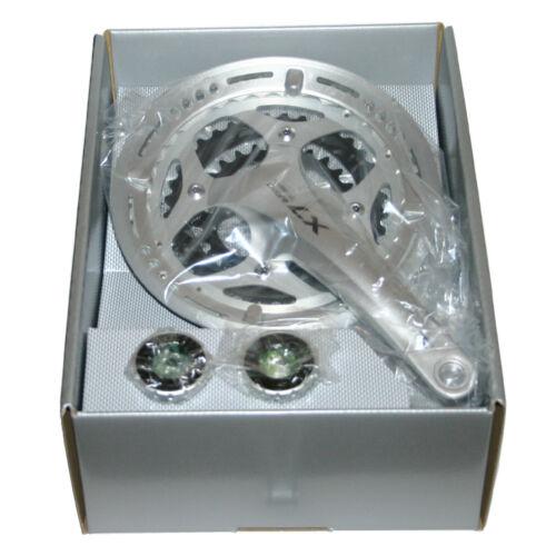 Shimano Deore LX 3x9-fach Kurbel crankset FC-T661 48-36-26 m Innenlager SM-BB70