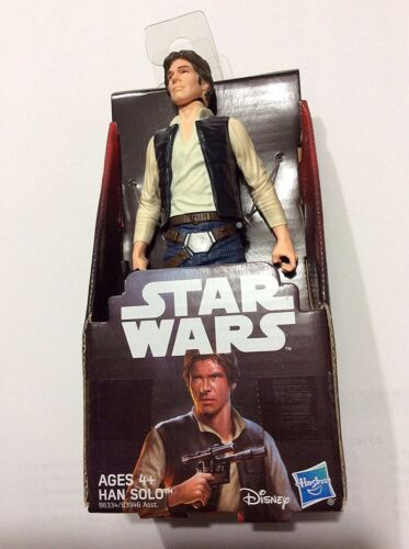 Star Wars A New Hope Han Solo Action Figure 5.75 inches Harrison Ford