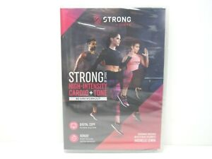 Strong-Zumba-High-Intensity-Cardio-Tone-Workout-Michelle-Lewin-Exercises-DVD-NEW