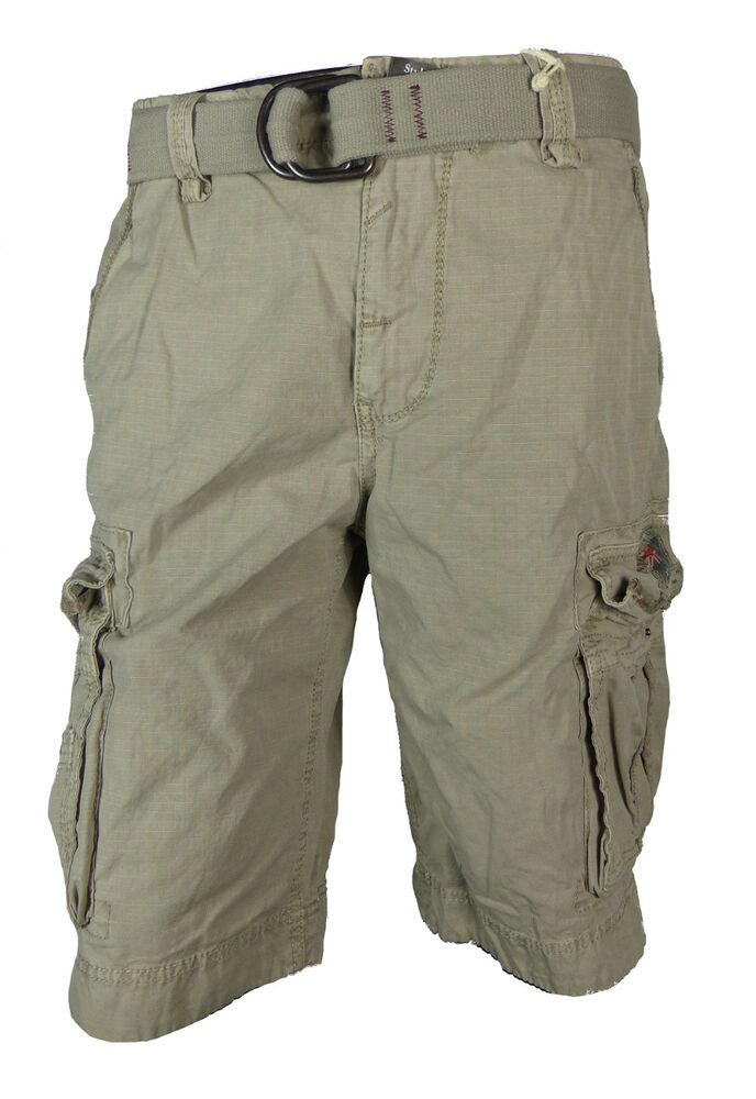 Trempé Jet Lag Cargo Hommes Short Take Off 8 Grey Gris Cargo Shorts Hommes Pantalon Court Retarder La SéNilité