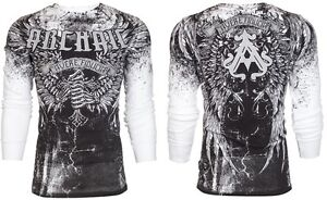 Archaic-AFFLICTION-Men-THERMAL-T-Shirt-HOLY-MAN-Wings-Tattoo-Biker-M-3XL-58