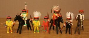 Playmobil 3580 Chefs et guerriers indiens, armes et chevaux