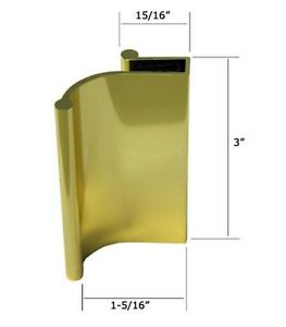 Bright Gold Tub Enclosure and Sliding Shower Door Pull Handle | eBay
