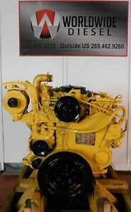 1995-CAT-3116-Diesel-Engine-175-HP-Approx-106K-Miles-All-Complete
