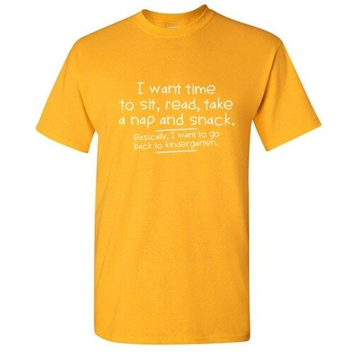 I Want Time To Sit Sarcastic Cool Graphic Gift Idea Adult Humor Funny T Shirt