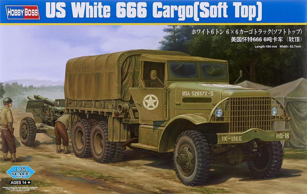 HOBBYBOSS US blanc 666 voitureGO (SOFT  TOP) Scala 1 35 cod.83802  le plus préférentiel