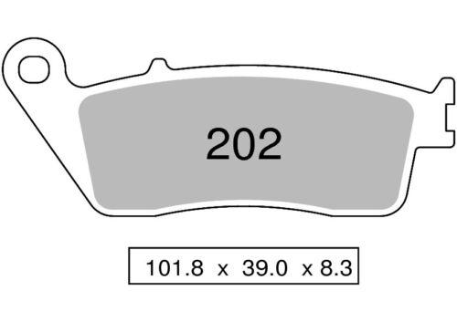posteriori Kawasaki Z750 Z 750 2007-2014 kit pastiglie anteriori