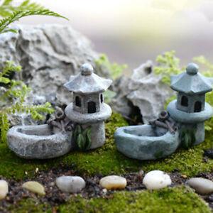 DIY Miniatur Fee Garten Handwerk Harz Haus Mini Landschaft wg