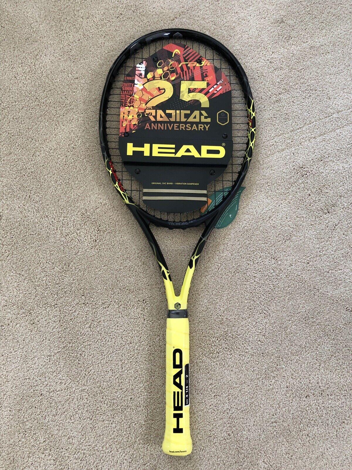 New Head Graphène Touch Radical Mp Ltd Raquette De Tennis Cordée Grip Größe 4 1 4