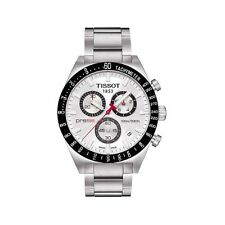 TISSOT PRS 516 T044.417.21.031.00 CHRONOGRAPH MENS WATCH STAINLESS STEEL QUARTZ