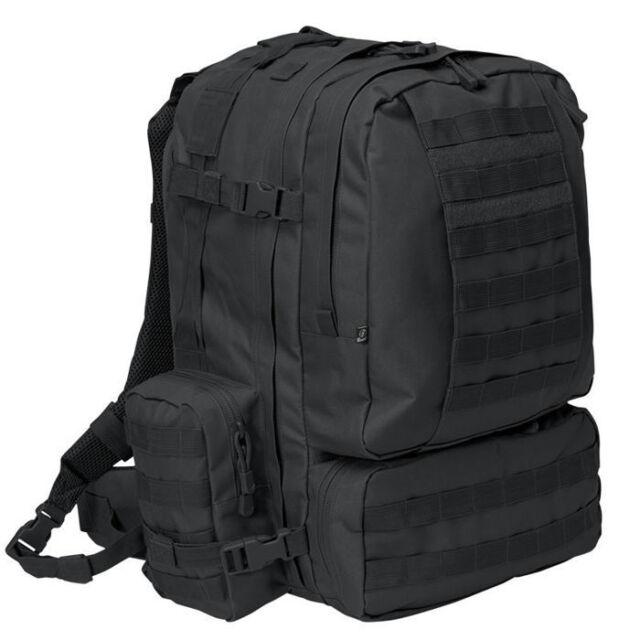 7e6340efa3 Brandit 8019.2 50L Tactical US Cooper 3 Day Assault MOLLE Army Backpack  Black