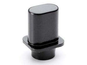 Metric Top Hat Switch Tip for Tele 3 Way Selector Fender Telecaster Guitar Black
