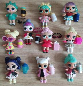 Lot 10 LOL Surprise Dolls Lot Random big sister Random Dress Shoes Bottle toy