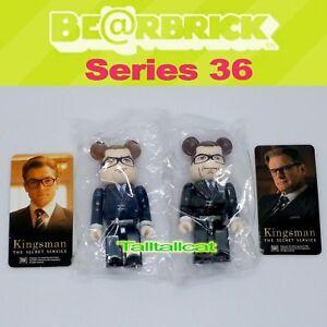 Medicom Bearbrick Be@rbrick 100/% S36 Hero Kingsman The Secret Service Art Figure