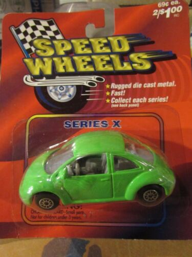 Speed Wheels Series X Volkswagen Beetle Light Green