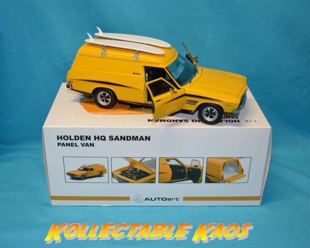 1:18 Biante - Holden HQ Sandman Panel Van - Chrome Yellow