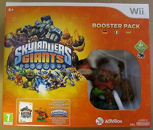 Videogame-Skylanders-Giants-Booster-Pack-Wii