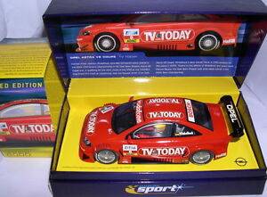 Constructif Scalextric C2475a Sport Opel Astra V8 Coupe #8 Tv Today Winkelhock Lted.ed. Mb